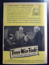 Three Wise Fools (1946) - Margaret O'Brien | Vintage Trade Ad